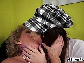 Real step sistas in lesbian sex near KM Irchall